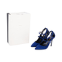 Authentic Pre Owned Nicholas Kirkwood Suede Multistrap Pointed Toe Pumps (PSS-588-00017) - Thumbnail 6