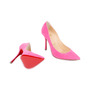 Authentic Second Hand Christian Louboutin Decoltish 100 Suede Pumps (PSS-588-00018) - Thumbnail 2