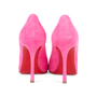 Authentic Second Hand Christian Louboutin Decoltish 100 Suede Pumps (PSS-588-00018) - Thumbnail 5