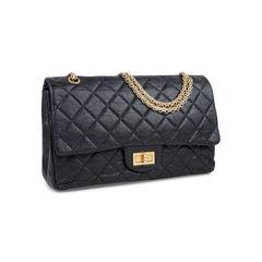 Chanel maxi 2 55 reissue black 2?1545109737