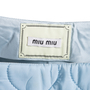 Authentic Second Hand Miu Miu Quilted Skirt (PSS-515-00191) - Thumbnail 3