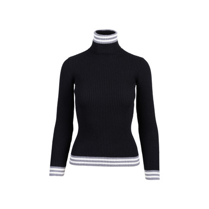 Authentic Pre Owned Sportmax Code Ribbed Knit Sweater (PSS-515-00193)