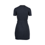Authentic Second Hand Tory Burch Leather Trim Knit Dress (PSS-515-00199) - Thumbnail 1