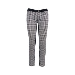 Houndstooth Skinny Pants