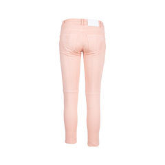 Pierre balmain pink moto skinny jeans 2?1545112659