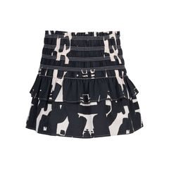 Isabel marant printed stretch skirt 2?1545112679