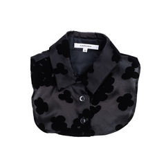Floral Appliqué Detachable Collar