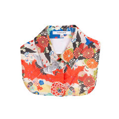 Floral Print Detachable Collar