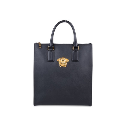 Authentic Pre Owned Versace Palazzo Medusa Tote (PSS-592-00002)