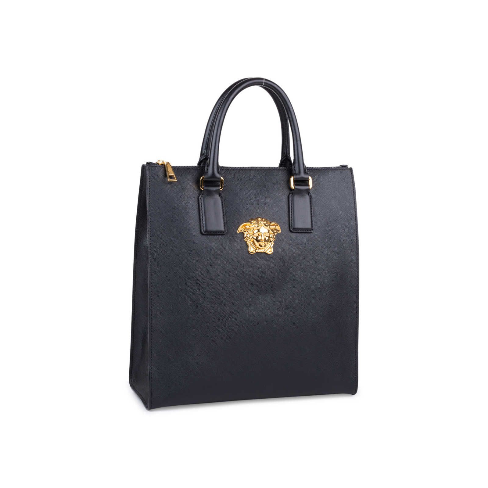 22473a0dea ... Authentic Second Hand Versace Palazzo Medusa Tote (PSS-592-00002) -  Thumbnail ...