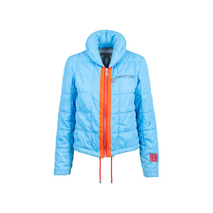 Authentic Pre Owned Chanel Blue Down Jacket (PSS-575-00049)