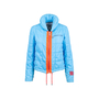 Authentic Pre Owned Chanel Blue Down Jacket (PSS-575-00049) - Thumbnail 0