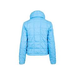 Chanel blue down jacket 2?1545197859
