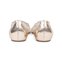 Authentic Pre Owned Christian Louboutin Follies Strass Mesh and Leather Flats (PSS-197-00109) - Thumbnail 5
