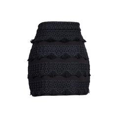 Maje fringe crochet skirt 2?1545316964