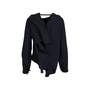 Authentic Second Hand Roland Mouret Leyton Draped Crepe Top (PSS-197-00107) - Thumbnail 1