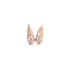 Angelica Snow Rose Gold Ring