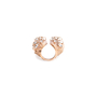 Authentic Second Hand Lucien Elements Angelica Snow Rose Gold Ring (PSS-197-00108) - Thumbnail 4