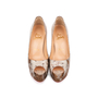 Authentic Pre Owned Christian Louboutin Altadama Watersnake 140 Pumps (PSS-556-00021) - Thumbnail 0