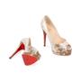 Authentic Pre Owned Christian Louboutin Altadama Watersnake 140 Pumps (PSS-556-00021) - Thumbnail 2