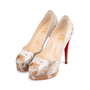 Authentic Pre Owned Christian Louboutin Altadama Watersnake 140 Pumps (PSS-556-00021) - Thumbnail 3