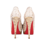 Authentic Pre Owned Christian Louboutin Altadama Watersnake 140 Pumps (PSS-556-00021) - Thumbnail 5