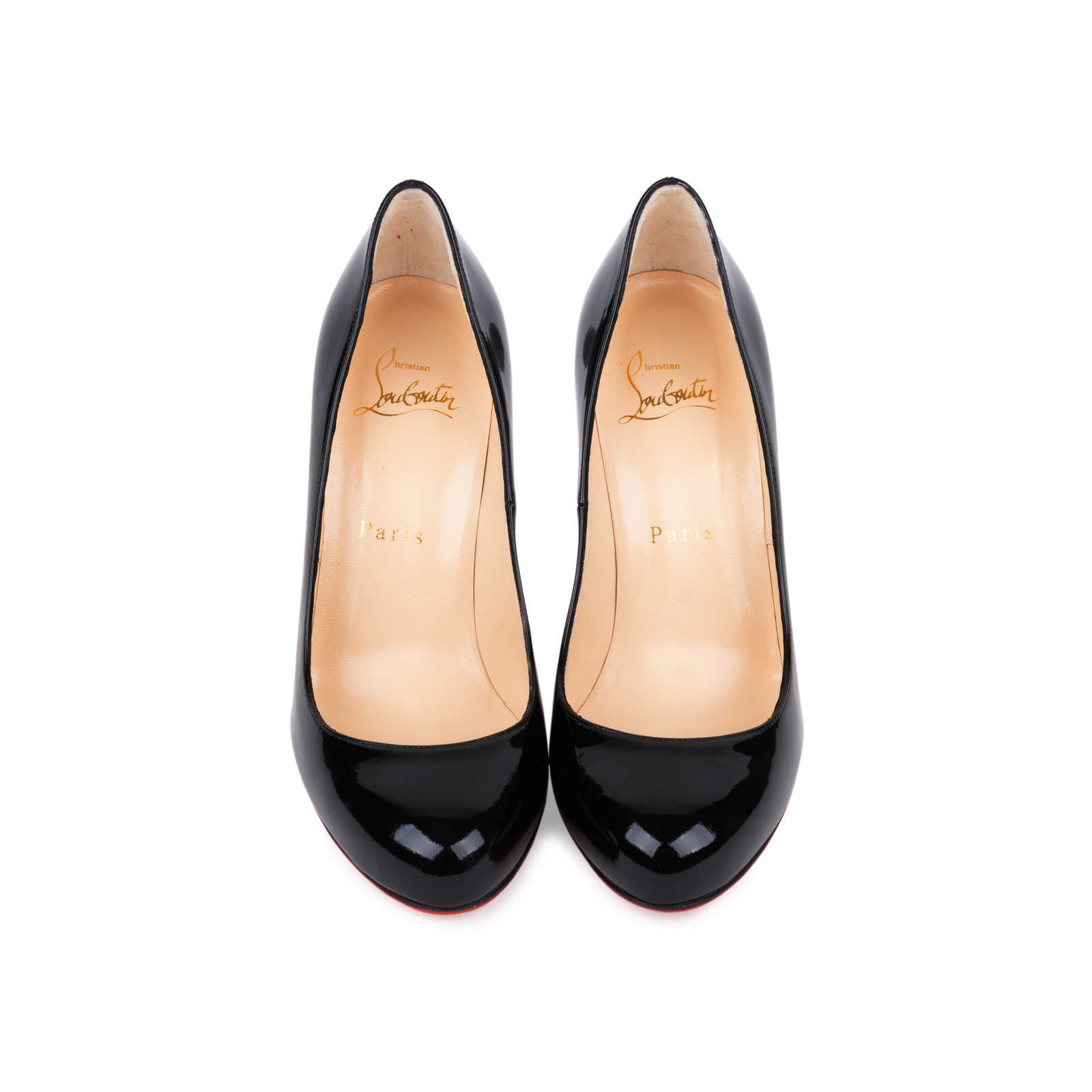 timeless design b17e5 5bdc6 Authentic Second Hand Christian Louboutin Fifi Patent Pumps ...