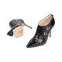 Authentic Pre Owned Jimmy Choo Patent Ankle Boots (PSS-556-00023) - Thumbnail 1