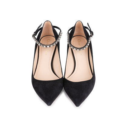Authentic Pre Owned Christian Dior Diorly Suede Pumps (PSS-051-00416)