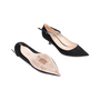 Authentic Second Hand Christian Dior Diorly Suede Pumps (PSS-051-00416) - Thumbnail 2