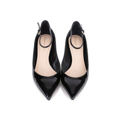 Ankle Strap Patent Pumps
