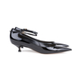 Authentic Pre Owned Christian Dior Ankle Strap Patent Pumps (PSS-051-00417) - Thumbnail 4