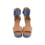 Authentic Second Hand Hermès Bicolour Platform Sandals (PSS-051-00419) - Thumbnail 0