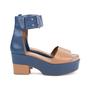 Authentic Second Hand Hermès Bicolour Platform Sandals (PSS-051-00419) - Thumbnail 4