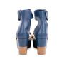 Authentic Second Hand Hermès Bicolour Platform Sandals (PSS-051-00419) - Thumbnail 5