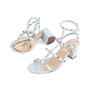 Authentic Pre Owned Valentino Rockstud Block Heel Sandals (PSS-051-00420) - Thumbnail 1