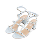 Authentic Pre Owned Valentino Rockstud Block Heel Sandals (PSS-051-00420) - Thumbnail 3