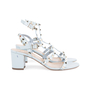 Authentic Pre Owned Valentino Rockstud Block Heel Sandals (PSS-051-00420) - Thumbnail 4