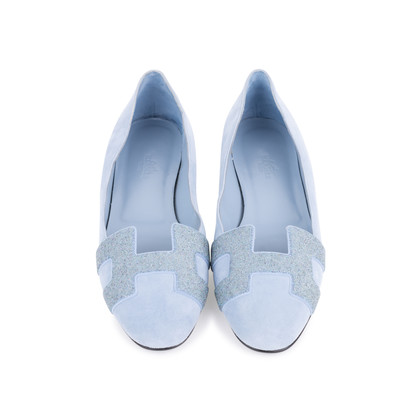 Authentic Second Hand Hermès Nice Ballerina Flats (PSS-051-00421)