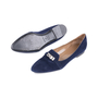 Authentic Pre Owned Hermès Pegase Ballerina Flats (PSS-051-00422) - Thumbnail 1