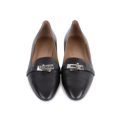 Authentic Pre Owned Hermès Pegase Ballerina Flats (PSS-051-00425)
