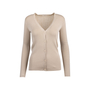 Authentic Pre Owned Prada Nude Cashmere Silk Blend Cardigan (PSS-051-00450) - Thumbnail 0