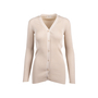 Authentic Pre Owned Prada Nude Rib Knit Cardigan (PSS-051-00451) - Thumbnail 0