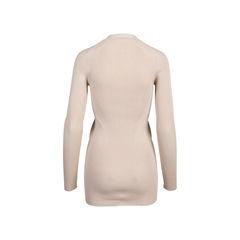 Prada nude rib knit cardigan 2?1545634774