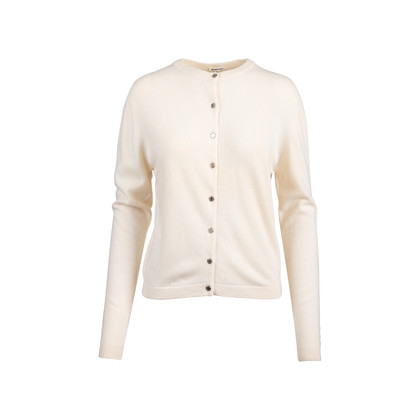 Authentic Second Hand Hermès Clou de Selle Button Cashmere Cardigan (PSS-051-00468)