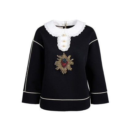 Authentic Pre Owned Gucci Strawberry Embellished Sweatshirt (PSS-051-00475)