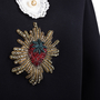 Authentic Pre Owned Gucci Strawberry Embellished Sweatshirt (PSS-051-00475) - Thumbnail 4