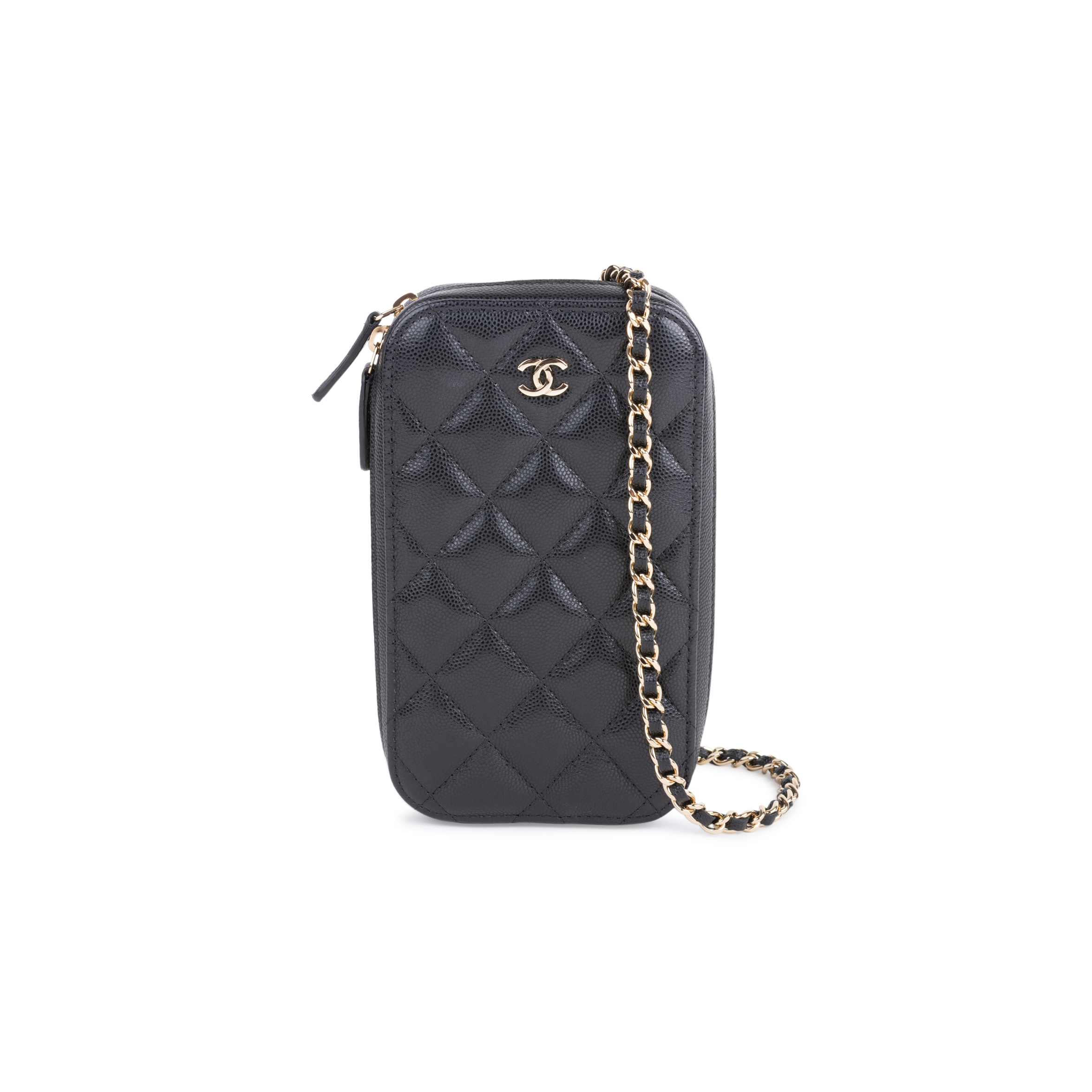Authentic Pre Owned Chanel Classic Clutch with Chain (PSS-145-00261)   THE  FIFTH COLLECTION® 863d2bb0784