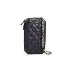 Chanel classic clutch with chain 2?1545634945