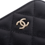 Authentic Second Hand Chanel Classic Clutch with Chain (PSS-145-00261) - Thumbnail 4